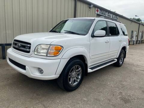 2004 Toyota Sequoia for sale at Texas Car Center in Dallas TX