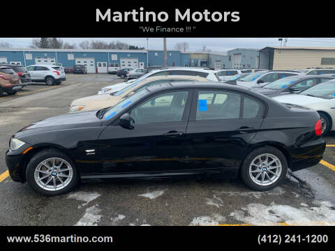 2010 BMW 3 Series for sale at Martino Motors in Pittsburgh PA