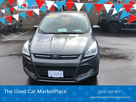 2014 Ford Escape for sale at The Used Car MarketPlace in Newberg OR