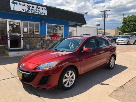 2010 Mazda MAZDA3 for sale at Island Auto Sales in Colorado Springs CO