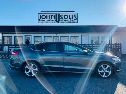 2016 Ford Fusion for sale at John Solis Automotive Village in Idaho Falls ID