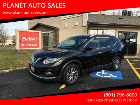2016 Nissan Rogue for sale at PLANET AUTO SALES in Lindon UT