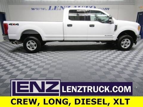 2017 Ford F-250 Super Duty for sale at LENZ TRUCK CENTER in Fond Du Lac WI