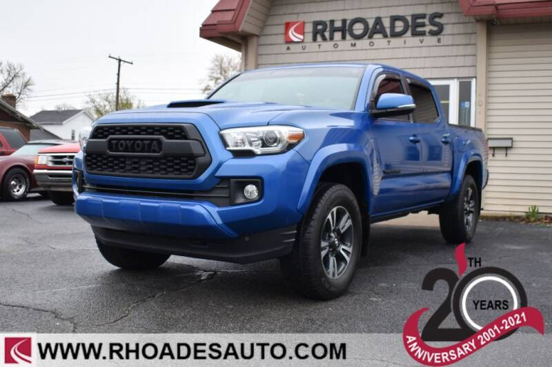 2017 Toyota Tacoma for sale at Rhoades Automotive in Columbia City IN