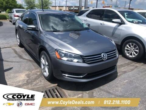 2014 Volkswagen Passat for sale at COYLE GM - COYLE NISSAN - New Inventory in Clarksville IN
