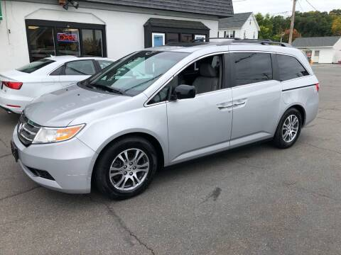 2012 Honda Odyssey for sale at Auto Sales Center Inc in Holyoke MA