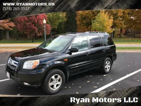 2007 Honda Pilot for sale at Ryan Motors LLC in Warsaw IN