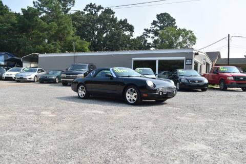 2002 Ford Thunderbird for sale at Barrett Auto Sales in North Augusta SC