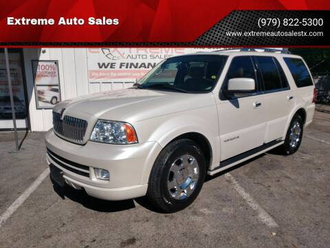 2005 Lincoln Navigator for sale at Extreme Auto Sales in Bryan TX