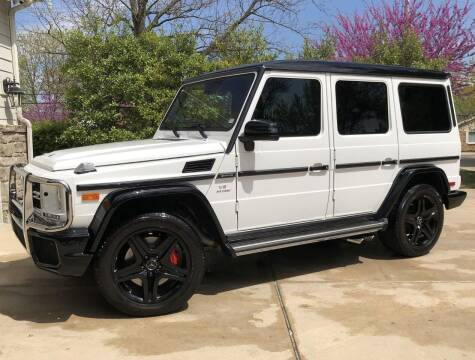 2017 Mercedes-Benz G-Class for sale at AVAZI AUTO GROUP LLC in Gaithersburg MD
