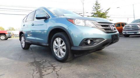 2014 Honda CR-V for sale at Action Automotive Service LLC in Hudson NY