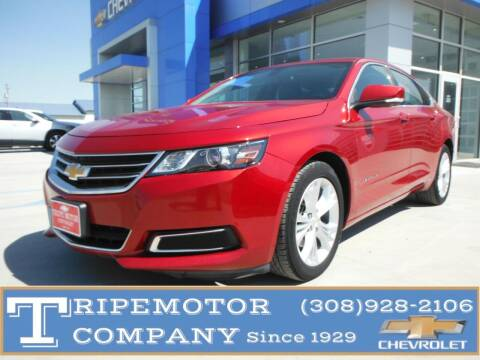 2014 Chevrolet Impala for sale at Tripe Motor Company in Alma NE