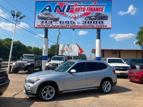 2015 BMW X1 for sale at ANF AUTO FINANCE in Houston TX