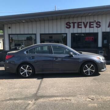 2015 Subaru Legacy for sale at STEVE'S AUTO SALES INC in Scottsbluff NE