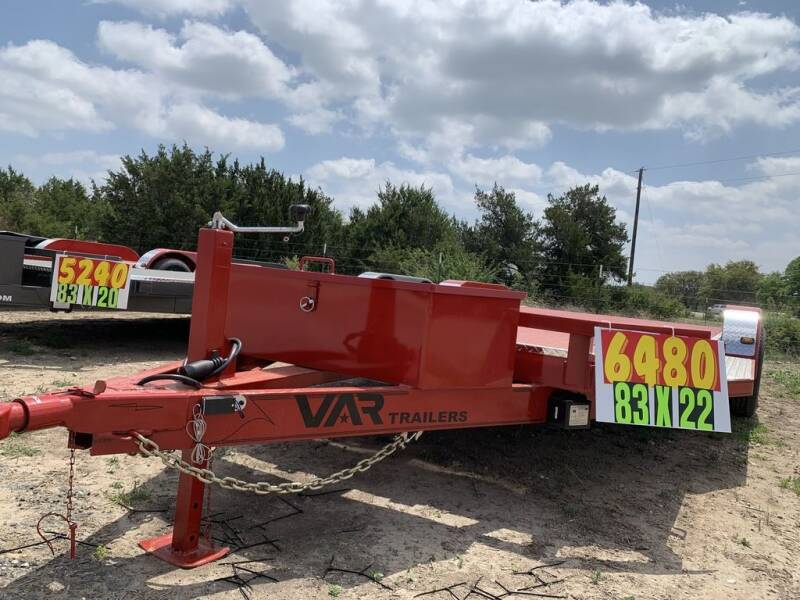 "2021 VAR  -83"" X 22' CAR HAULER DL for sale at LJD Sales in Lampasas TX"