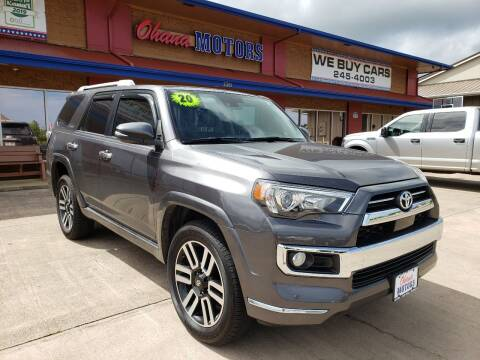 2020 Toyota 4Runner for sale at Ohana Motors in Lihue HI