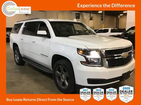 2017 Chevrolet Suburban for sale at Dallas Auto Finance in Dallas TX