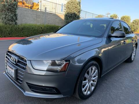 2013 Audi A4 for sale at Select Auto Wholesales in Glendora CA