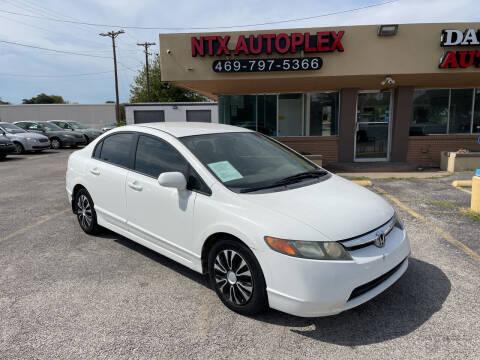 2006 Honda Civic for sale at NTX Autoplex in Garland TX