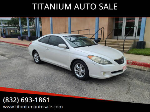 2006 Toyota Camry Solara for sale at TITANIUM AUTO SALE in Houston TX