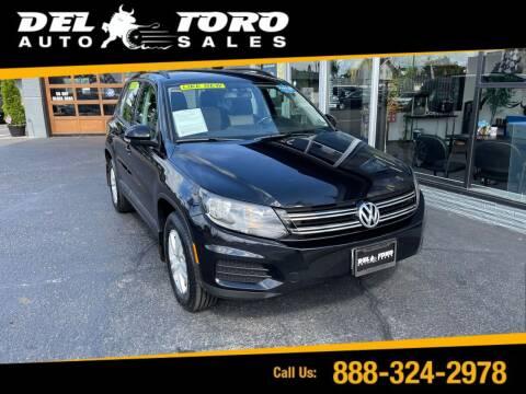 2017 Volkswagen Tiguan for sale at DEL TORO AUTO SALES in Auburn WA