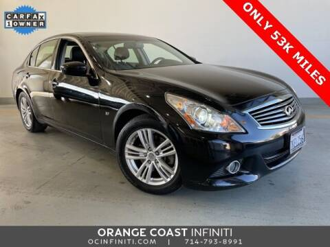 2015 Infiniti Q40 for sale at ORANGE COAST CARS in Westminster CA