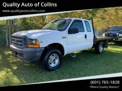 2001 Ford F-250 Super Duty for sale at Quality Auto of Collins in Collins MS