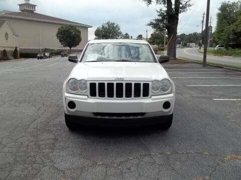 2006 Jeep Grand Cherokee for sale at CORTEZ AUTO SALES INC in Marietta GA
