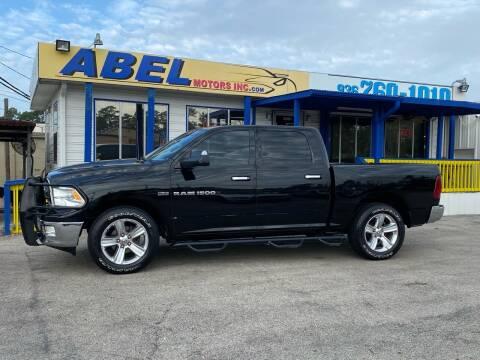 2012 RAM Ram Pickup 1500 for sale at Abel Motors, Inc. in Conroe TX