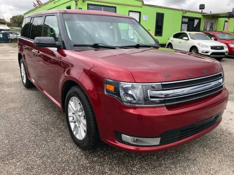 2014 Ford Flex for sale at Marvin Motors in Kissimmee FL