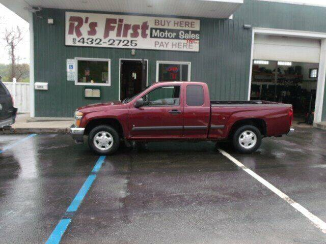 2007 Chevrolet Colorado for sale at R's First Motor Sales Inc in Cambridge OH