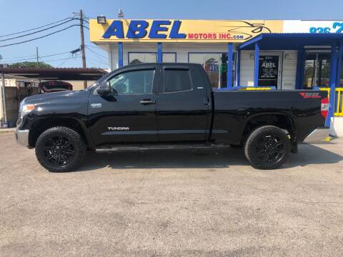2014 Toyota Tundra for sale at Abel Motors, Inc. in Conroe TX