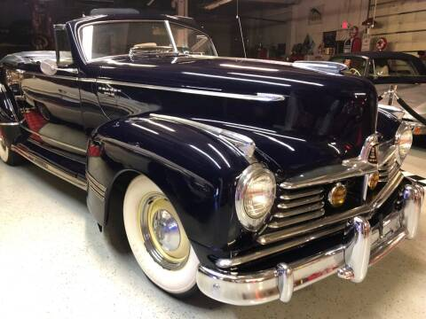 1947 Hudson Super Six for sale at Berliner Classic Motorcars Inc in Dania Beach FL