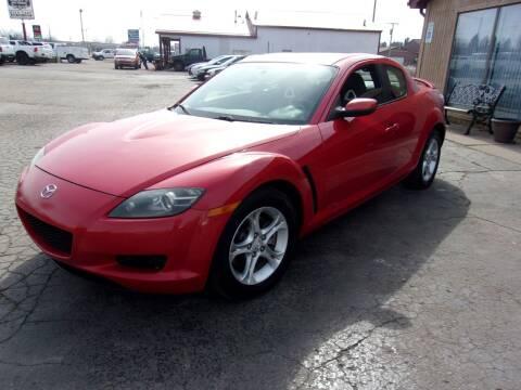 2006 Mazda RX-8 for sale at DAVE KNAPP USED CARS in Lapeer MI