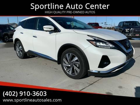 2019 Nissan Murano for sale at Sportline Auto Center in Columbus NE