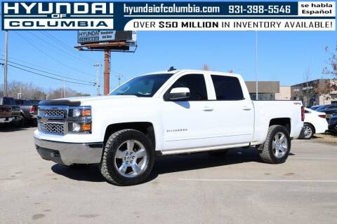 2015 Chevrolet Silverado 1500 for sale at Hyundai of Columbia Con Alvaro in Columbia TN