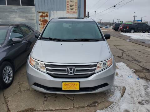 2011 Honda Odyssey for sale at Brothers Used Cars Inc in Sioux City IA