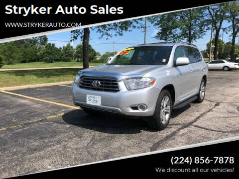 2009 Toyota Highlander for sale at Stryker Auto Sales in South Elgin IL