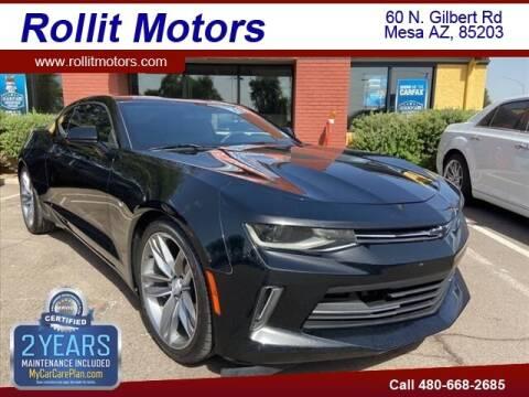 2018 Chevrolet Camaro for sale at Rollit Motors in Mesa AZ