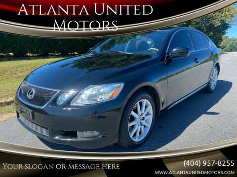 2007 Lexus GS 350 for sale at Atlanta United Motors in Buford GA