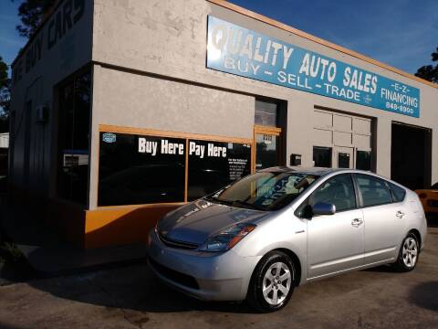 2009 Toyota Prius for sale at QUALITY AUTO SALES OF FLORIDA in New Port Richey FL
