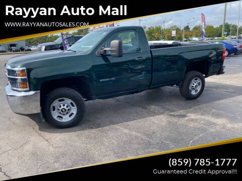 2015 Chevrolet Silverado 2500HD for sale at Rayyan Auto Mall in Lexington KY