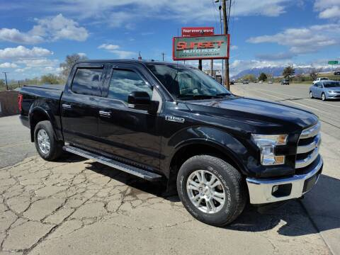2015 Ford F-150 for sale at Sunset Auto Body in Sunset UT