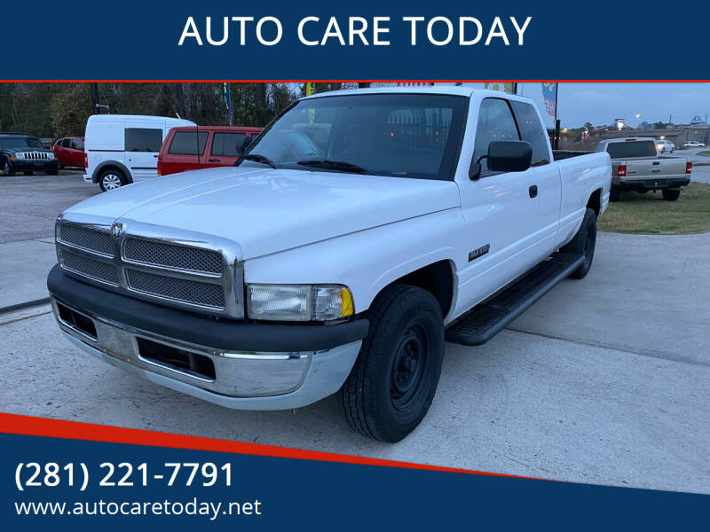1997 Dodge Ram Pickup 2500 for sale at AUTO CARE TODAY in Spring TX