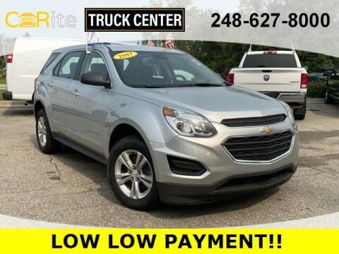 2017 Chevrolet Equinox for sale at Carite Truck Center in Ortonville MI