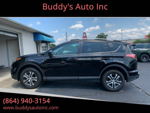 2018 Toyota RAV4 for sale at Buddy's Auto Inc in Pendleton, SC