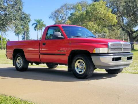 2000 Dodge Ram Pickup 1500 for sale at M.D.V. INTERNATIONAL AUTO CORP in Fort Lauderdale FL
