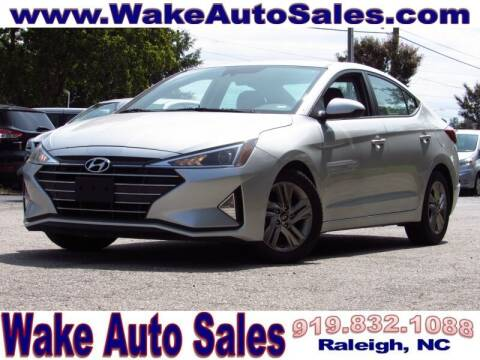 2019 Hyundai Elantra for sale at Wake Auto Sales Inc in Raleigh NC