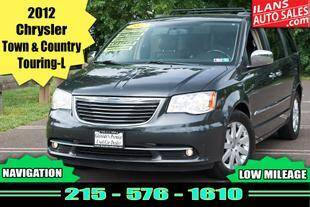 2012 Chrysler Town and Country for sale at Ilan's Auto Sales in Glenside PA