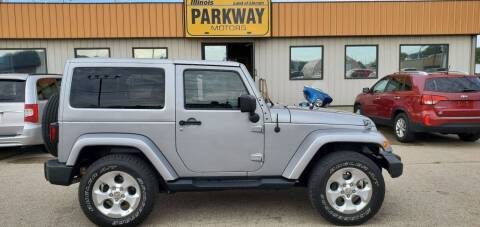 2014 Jeep Wrangler for sale at Parkway Motors in Springfield IL